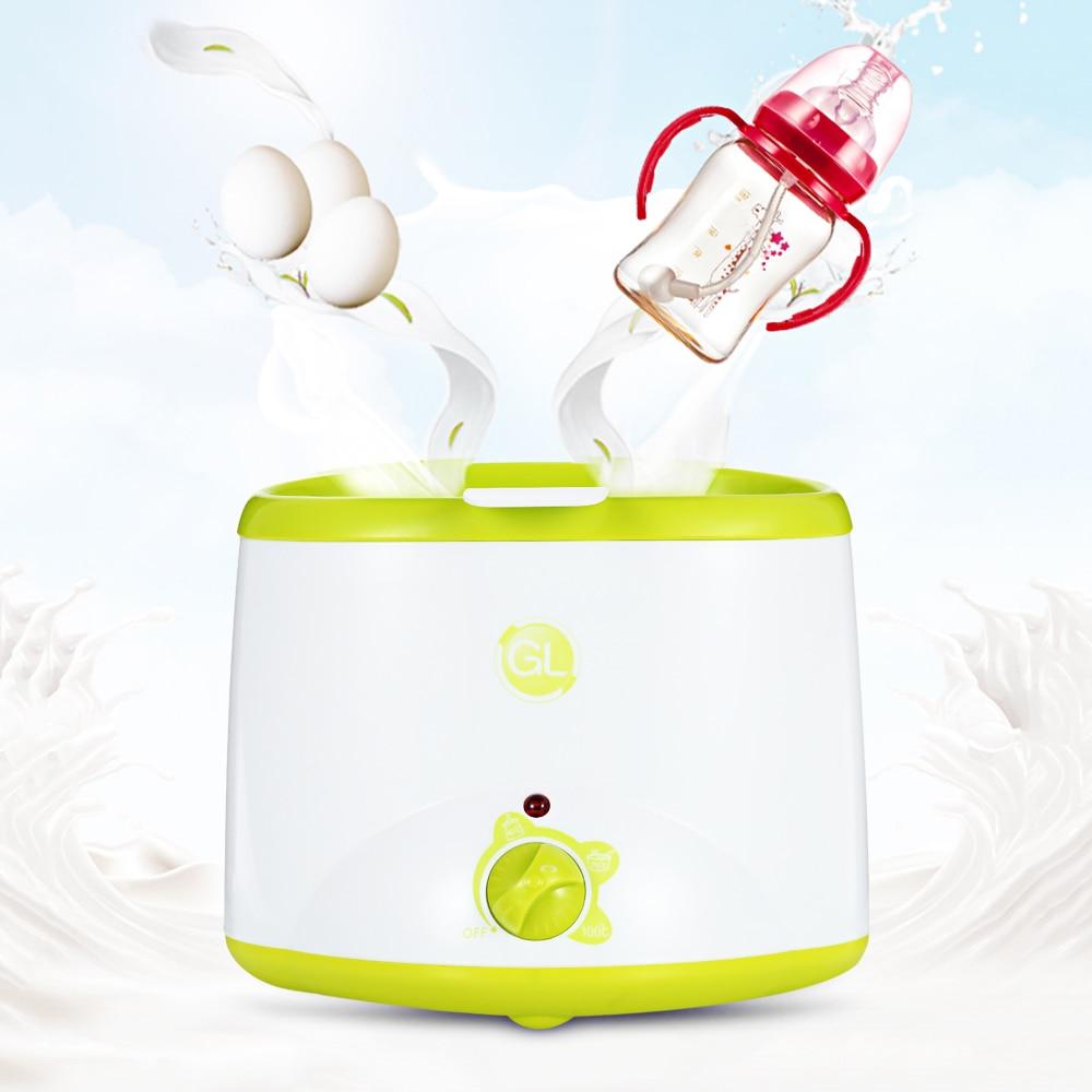 GL Double Electric Baby Milk Warmer Heating Milk Food BPA Free Warmer Baby Feeding Double Bottle Sterilizer Liquid Heater gl baby milk bottle warmer