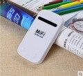 Портативный 3 Г 4 Г мифи wifi Карманный Беспроводной Маршрутизатор Модем с SIM Card Slot с Батареей 3000 мАч Портативный зарядное устройство Power Bank