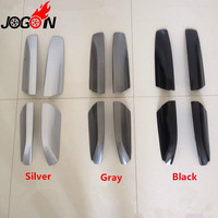 Car Styling 4PCS Roof Rack Rail End Protector Cover Shell For Toyota Highlander XU40 Kluger 2008 2013 Accessories