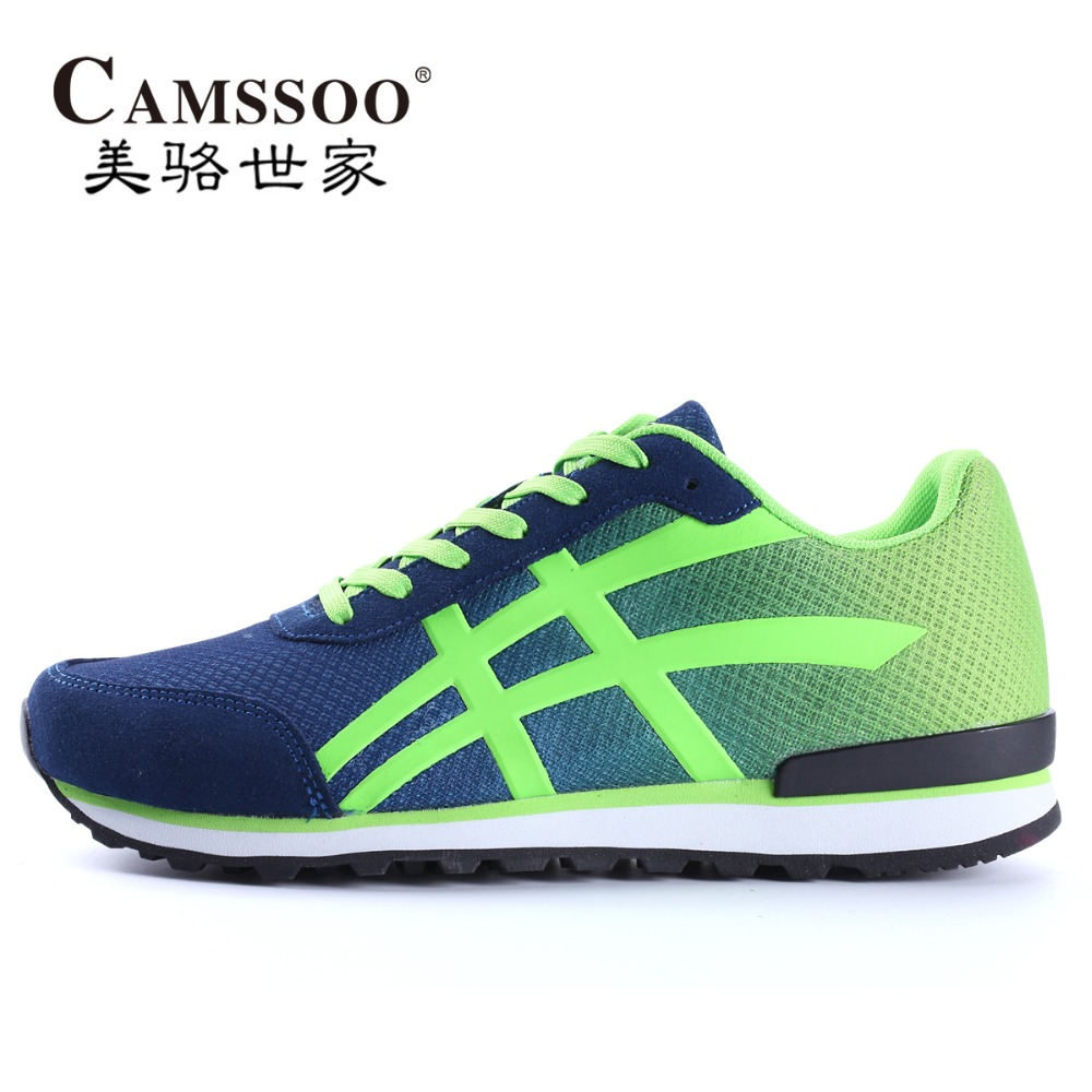 ФОТО 2016 New Arrivals Mens Sports Running Shoes Sneakers For Men Sport Breathable Run Trail Running Jogging Homme Shoes Man