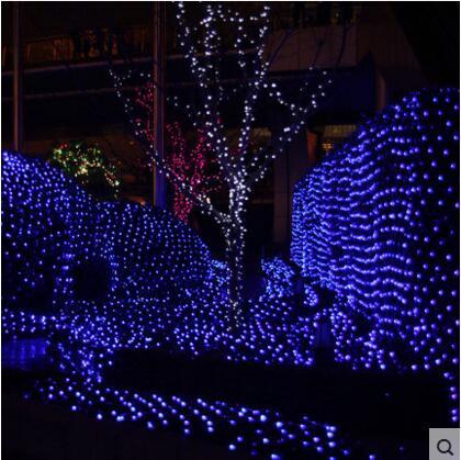 Nowy Rok 6x3m Girlanda LED Christmas Lights Dekoracja zewnętrzna - Oświetlenie wakacje - Zdjęcie 2