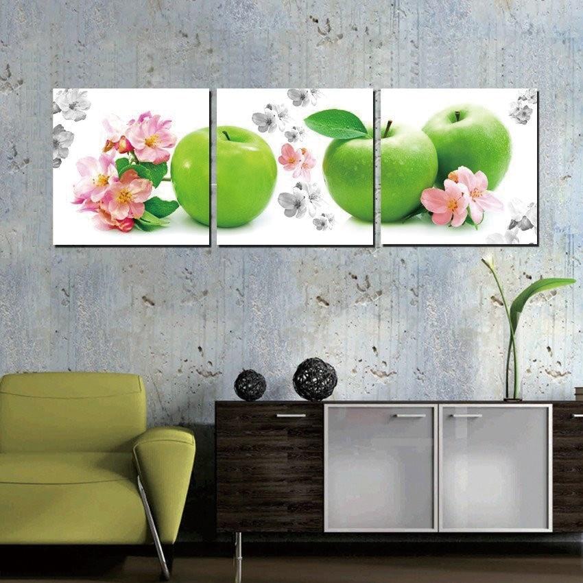 Aliexpress.com : Buy Home Decor Wall Art Green Apple
