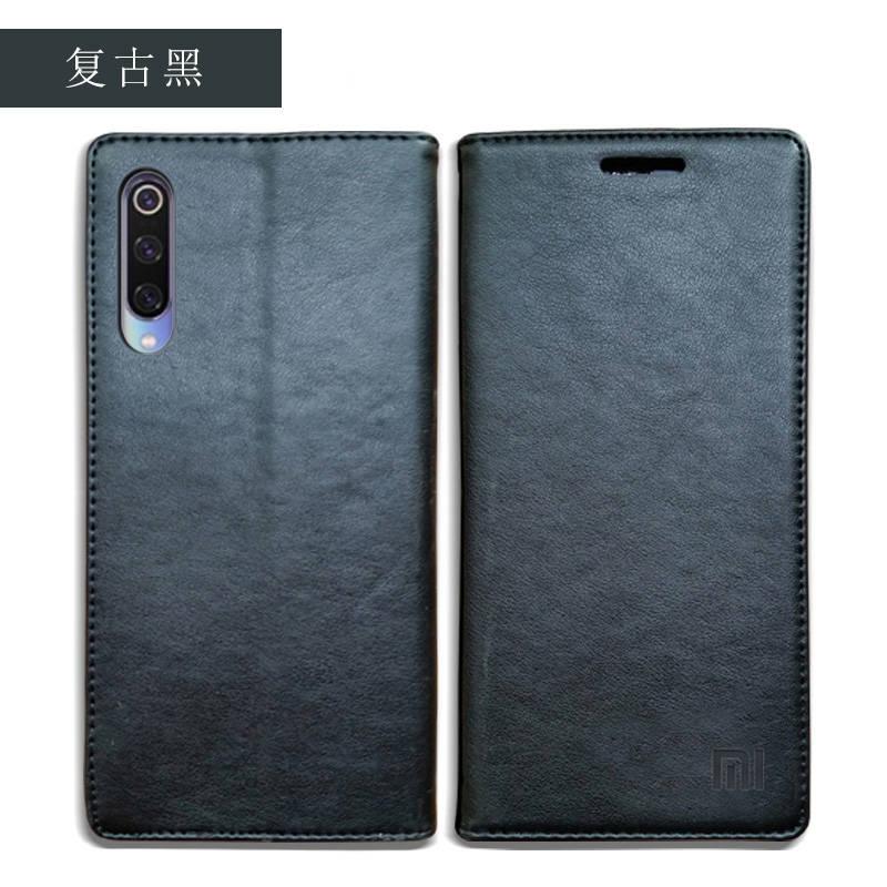 for Xiaomi Mi 9 Case Luxury Genuine Leather Flip Case for Xiaomi Mi 9 Magnetic Book Wallet Cover for Xaiomi mi9 Phone Coque Case06