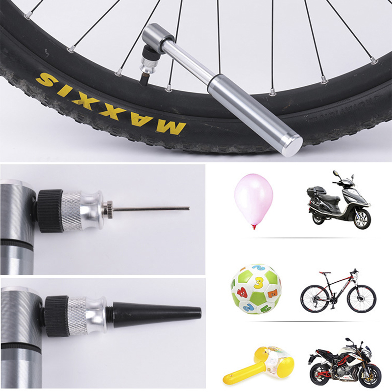 Mini Portable MTB Mountain Bike Cycling Bicycle Tyre Tire Hand Inflator Air Pump