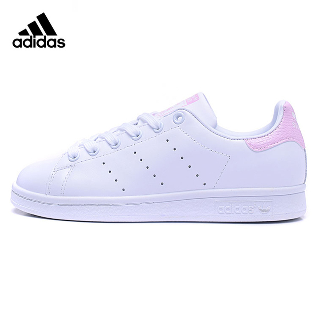 competitive price 26423 d08ba Adidas STAN SMITH Womens Walking Shoes ,Pink  White ,Wear-resistant  Lightweight Breathable Shock-absorbing BA9858