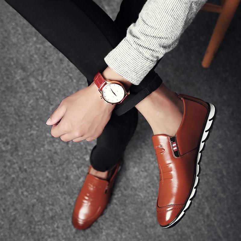 Brown Sneakers Loafer for Men - MiraShop