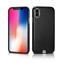 Original XOOMZ Case Cover For IPhone X Capa Luxury Genuine Leather Back Case For Apple IPhone