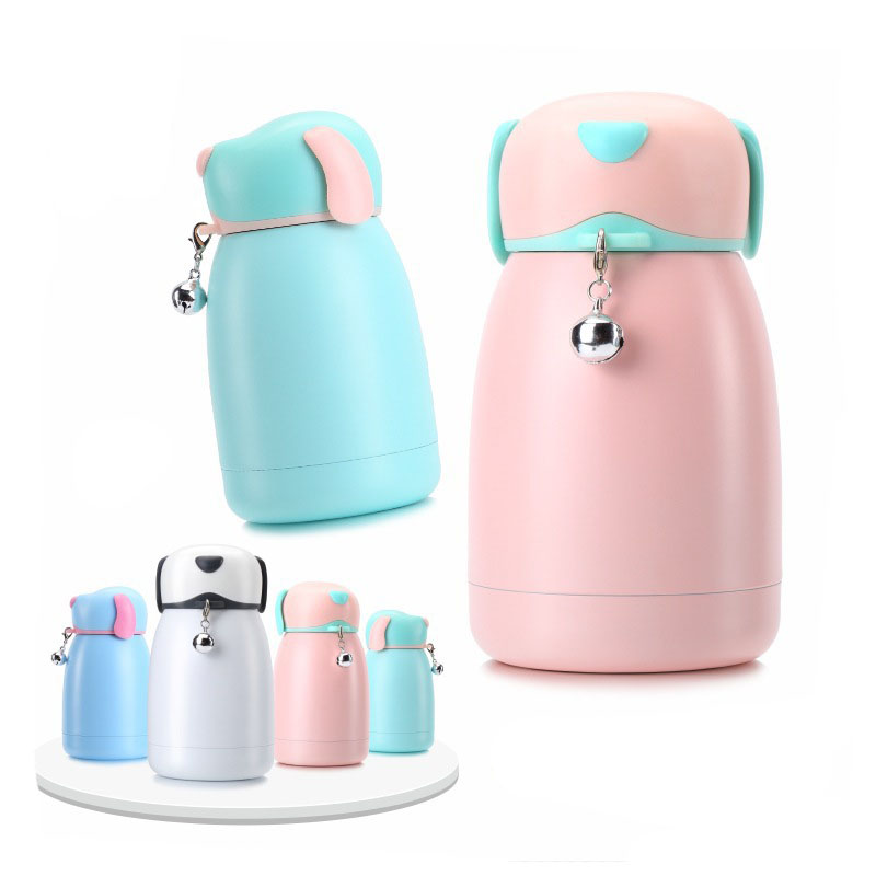 300ml Portable Pet Dog Water Bottle Travel Dog Bowl Cups: 2018 New 300ml Mini Creative Dog Water Bottle Stainless