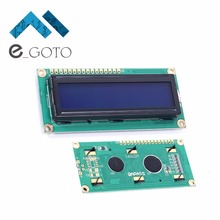 5 В ЖК-дисплей 16×2 Характер НОК синий Blacklight Экран Дисплей модуль HD44780 1602