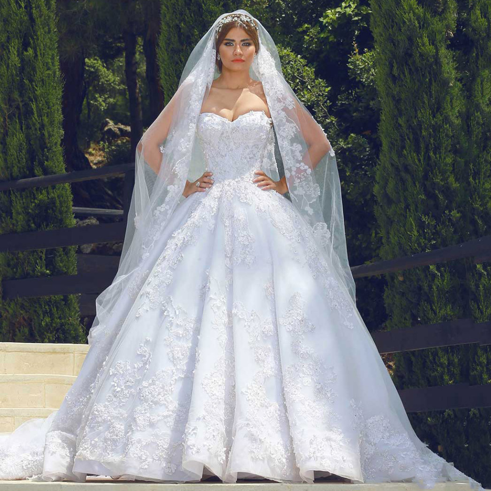 Online buy wholesale lebanon designer wedding dresses from for Lebanese wedding dress designers
