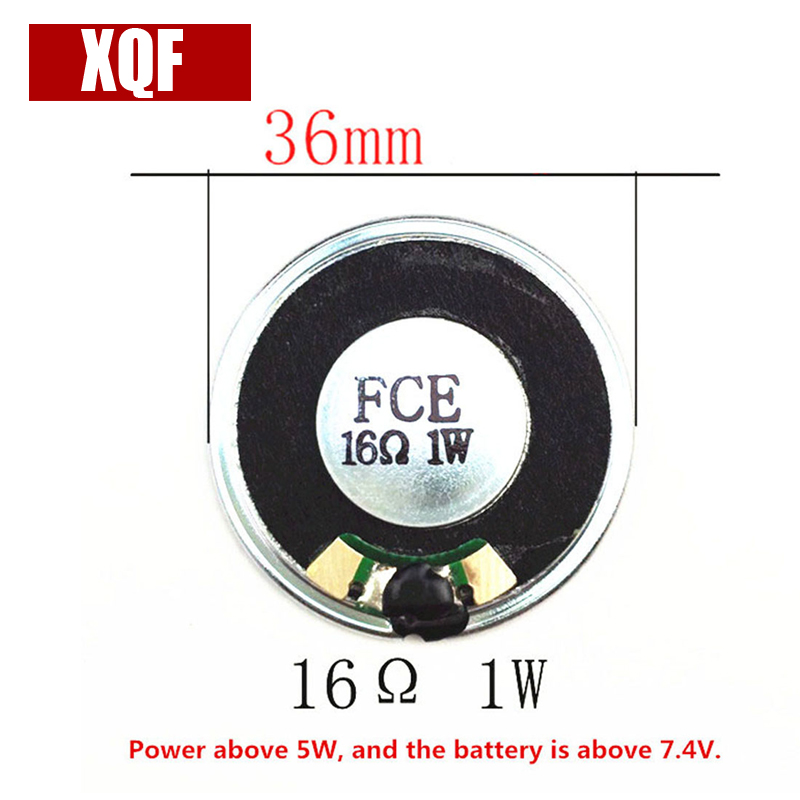 XQF 10PCS  Radio Horn Loudspeaker Speaker For Kenwood TK-378 TK-278 TK2107/3107 TK3207/2207 Radio