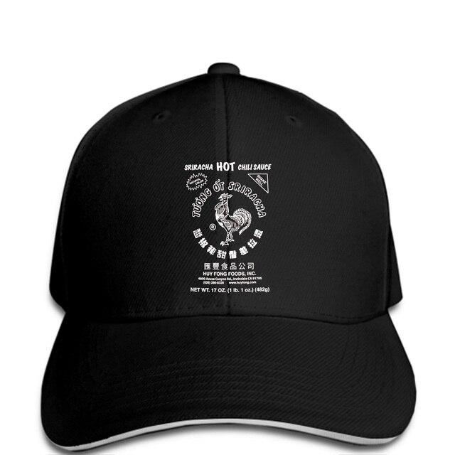 Sriracha Hot Chili Sauce Hat Quality Baseball caps Men Printing Baseball  cap Cool Design 3D f85f4f0588a