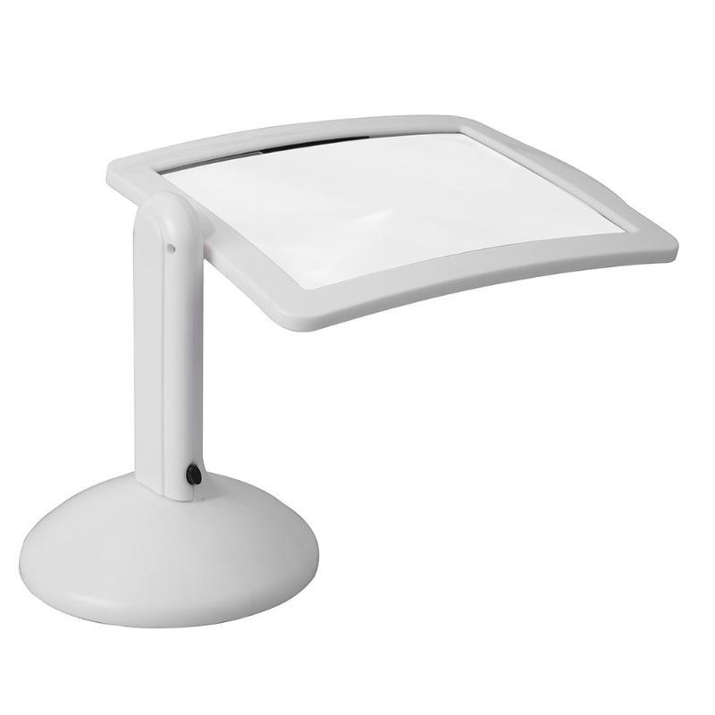 3X LED Reading Magnifier Desktop Lamp Table Lens Light Magnifying Tool Rotatable Desk Lamp Lighting Loupe Read Magnifier Glass