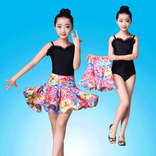 New Dance Dress Tango for Girls Latin Dance Children Modern Ballroom Vestido Salsa Tango Rumba Performance Stage Wear