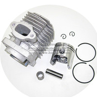 44 6 Engine Cylinder Head With Piston Kit For 2 Stroke 49cc Mini Dirt Bike Mini