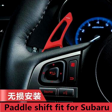 New product aluminium alloy car into gear paddle shift fit for Subaru Legacy WRX STI Forester