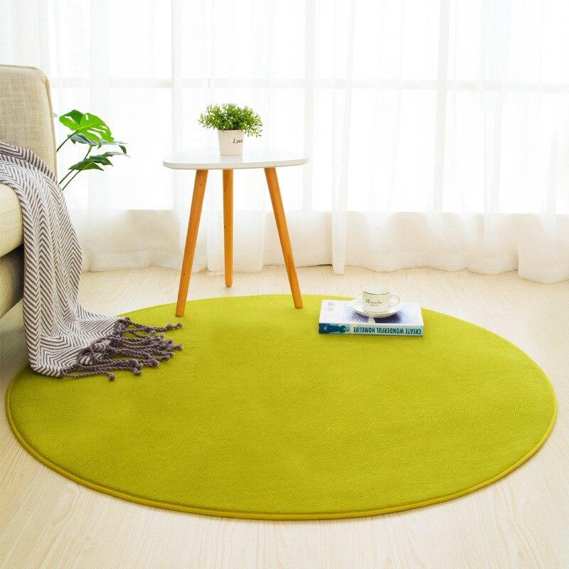 1 Piece Bathroom Carpet For Home Decor Round Chair Floor Mat Livingroom Bath Mat Rug Carpet Non-Slip Bathroom Mat Pad Rugs Set
