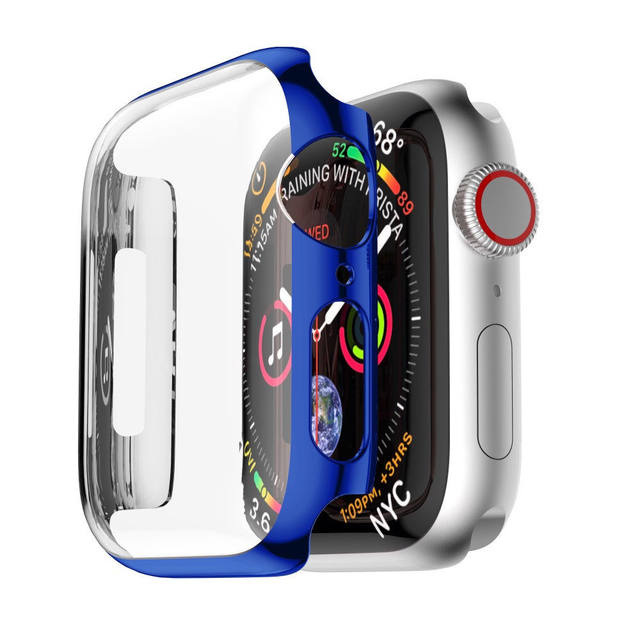 Frame Case For Apple Watch Series 4 Ultra Thin PC Plating Protective Cover For Apple Watch Series 4 40mm/44mm Protector Shell
