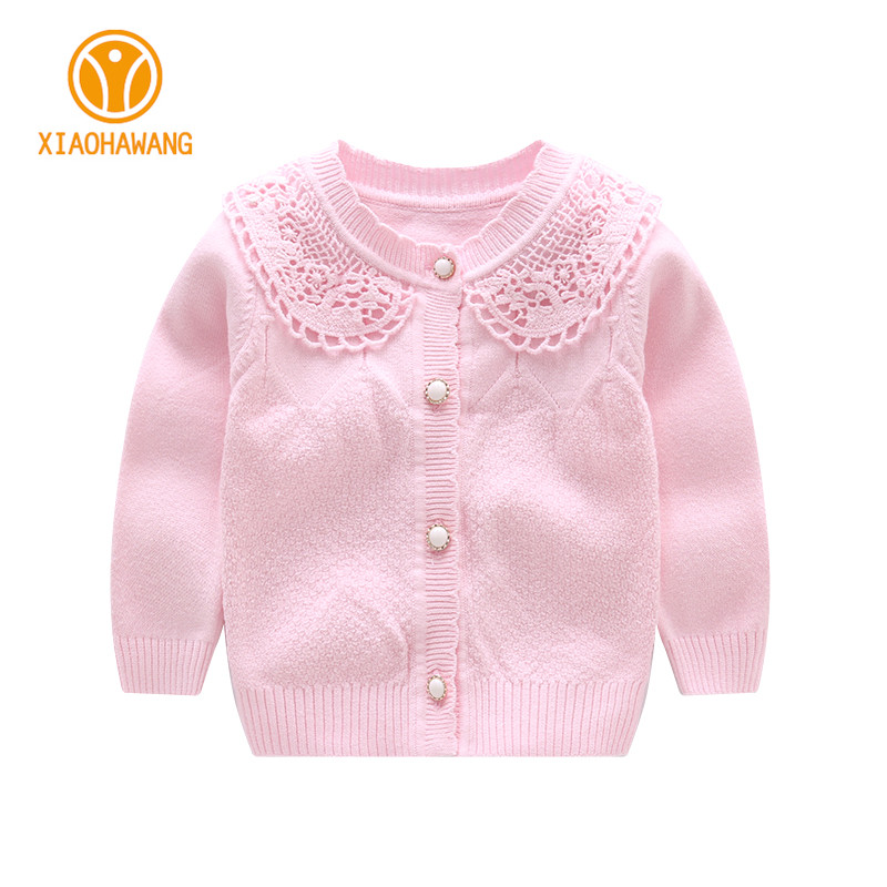 O Neck Baby Girls Sweater Long Sleeve Baby Sweaters Knitted Cotton Infant Coat Girls Cardigan Sweaters 2018 Baby Girls Clothing sweet bow girl sweater cardigan coat autumn kids knitted cotton sweater for baby girl long sleeve o neck cardigan girls clothing