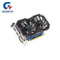 GIGABYTE Graphics Card GTX 750 Ti Original Card with NVIDIA GeForce GTX 750Ti GPU 2GB GDDR5 128 Bit Video Card for PC Used Cards