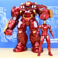 Marvel Avengers Hulkbuster 33cm Ironman Hulk Super Hero PVC Action Figure Collectible Model Toys