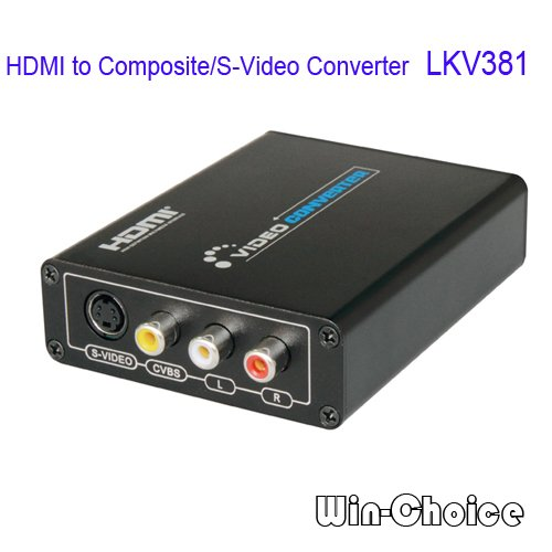 Hot Sales 3D HDMI to Composite/S Video Converter for HD DVD to TV ...