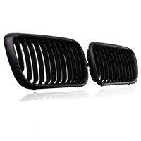 2x Car Radiator Grills Matte Black Front Kidney Grille For BMW E36 3 Series 1997 1999 318i/ 320i/ 323i/ 325i/ 328i/M3 Sedan
