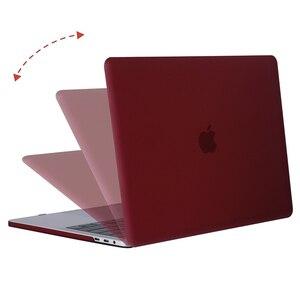 Image 4 - MOSISO マット Macbook Pro の網膜空気 11 12 13 15 カバー 2018 新空気 13 A1932 新プロ 13 15 とバー