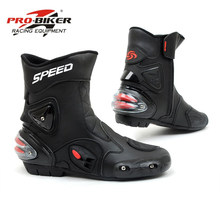 Riding Tribe Motorcycle Boots Men Bota Motocross Botas Moto Motorboats  Shoes Motorbike Racing Career Bicycle Speed 3d1a4b3fccef