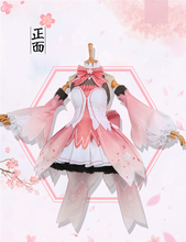 VOCALOID Hatsune Miku Cosplay Costume Sakura Gorgeous Anime Sweet Princess Dress Free Shipping