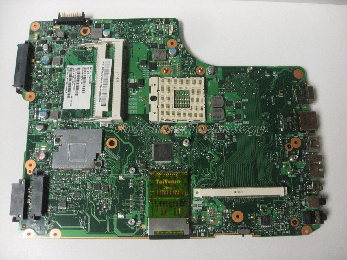 HOLYTIME laptop <font><b>Motherboard</b></font> For <font><b>Toshiba</b></font> Satellite A500 <font><b>A505</b></font> V000198170 6050A2338701-MB-A01 DDR3 non-integrated graphics card image