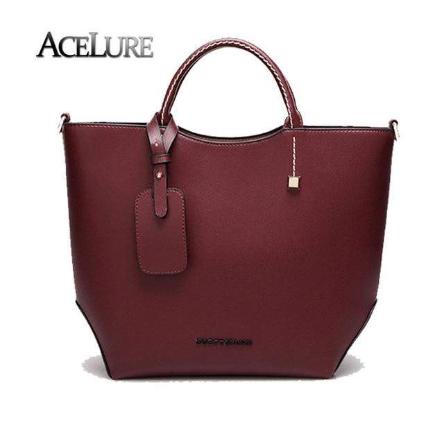 Women top-handle bags ladies casual messenger bags fashion burgundy bags female pu leather crossbody bags bolsa feminina tote