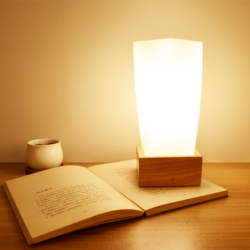 table lamp Home lights Table Lamps Real Picture E27 Wood for Bedroom or Living room wooden desktop lamp EU modern wood table floor lamp living room bedroom study standing lamps fabric decor home lights wooden floor standing lights