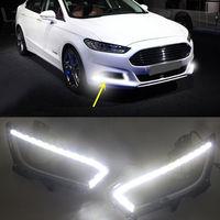 DRL Led daytime running light fog lamp for Ford Mondeo Fusion 2013 2014 2015