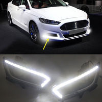 DRL Led daytime running light fog lamp for Ford Mondeo Fusion 2013 2014 2015