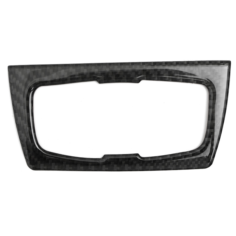 For BMW 3 Series GT /4 Series F30 32 33 80 83 Carbon Fiber Dashboard Black Headlight Switch Trim Interior Upgrades with Tape 3 series carbon fiber rear lip spoiler diffuser for bmw f34 gt m sport 4 door only 14 17 single exhaust two out grey frp