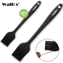 WALFOS 2 pieces/set food grade Silicone oil brush for grill BBQ Barbecue Cooking Pastry Brushes baking Tool