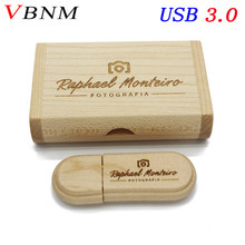 VBNM USB USB flash drive Maple wood pendrive 4GB 8GB 16GB 32GB memory stick