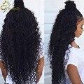 Vip Beauty Brazilian Hair Water Wave 4 Bundles Unprocessed Virgin Brazilian Curly Hair Weave 8A Wet n Wavy Human Hair Bundles