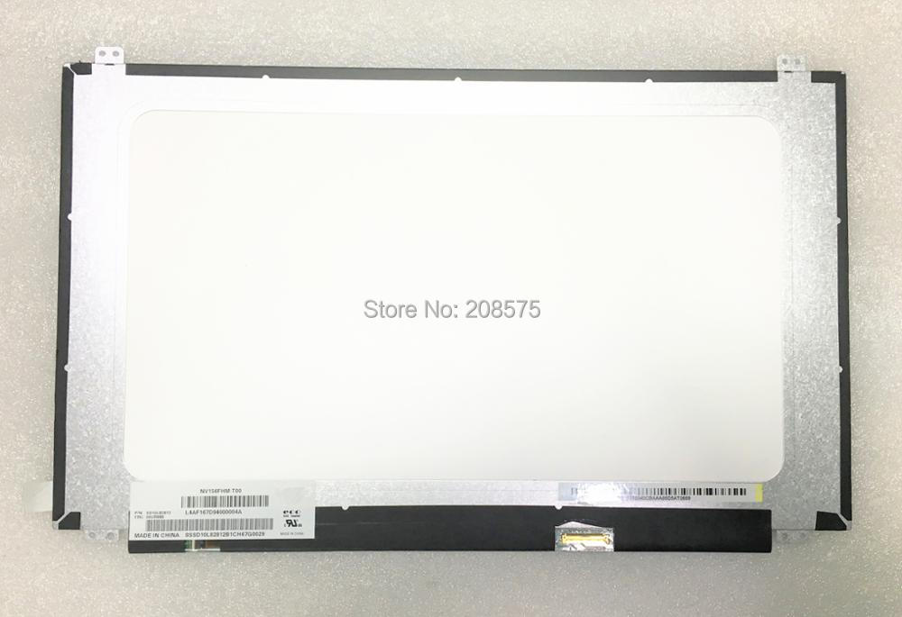 Free shipping NV156FHM-T00 15.6'' inch Laptop LCD SCREEN 1920*1080 with EDP 40pin free shipping notebook screen for e450 laptop lcd screen display 1920 1080 edp 04x5882 b140htn01 4