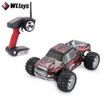 WLtoys A979 RC Car 2.4GHz 1/18 Full Proportional Remote Control 4WD Vehicle 45KM/h Brushed Motor Electric RTR Off-road Buggy car