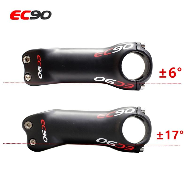 EC90 MTB Road Bicycle Stem 6//17° Carbon+AL 60-90mm Superlight Handlebar Stem