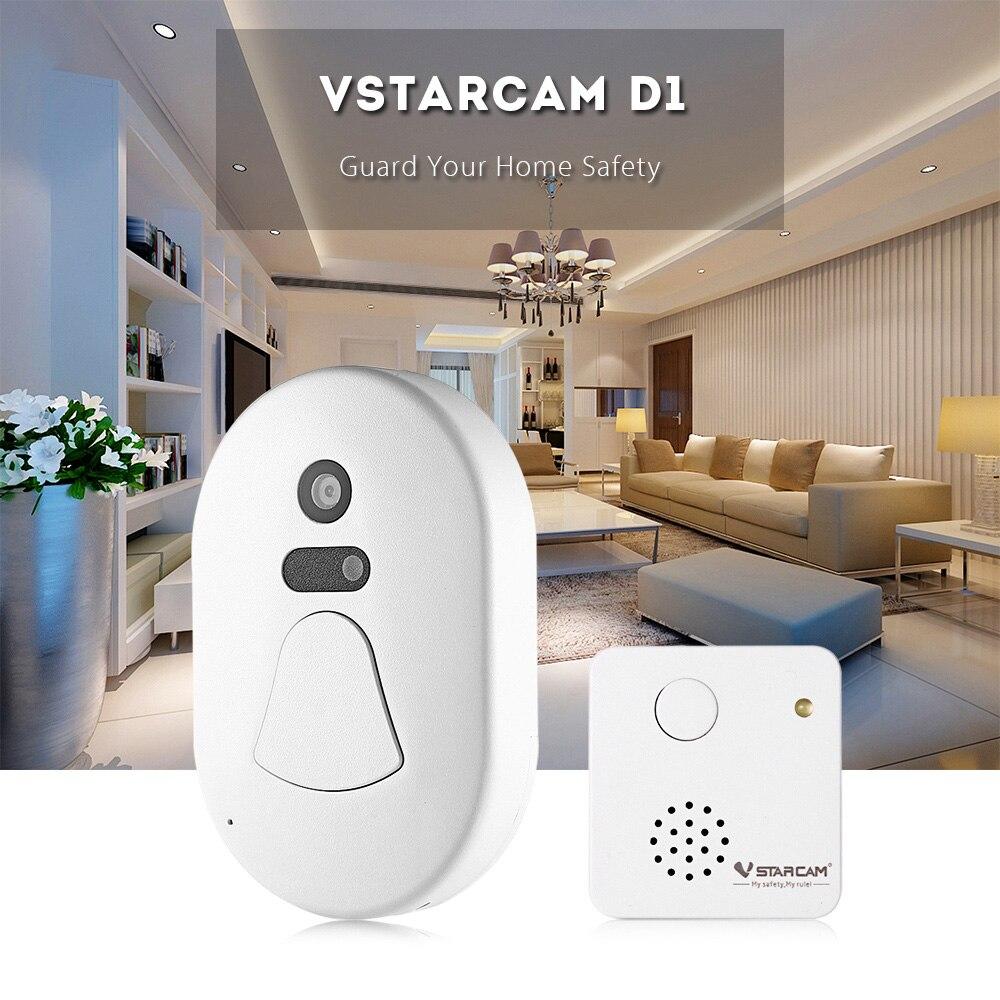 Vstarcam D1 2MP Wireless Doorbell LCD Display Smart Camera Wifi Doorbell Angle Record Video Digital Door Viewer Home Security видеоглазок vstarcam d1