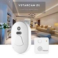 Vstarcam D1 WiFi Smart 2MP Camera Doorbell Night Vision Wide Angle Video Record Photo Shooting Digital