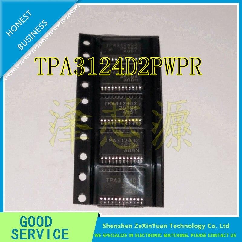 10PCS/LOT TPA3124D2PWPR TPA3124D2 TSSOP24 Stereoscopic D class audio amplifier power amplifier