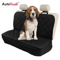 AUTOYOUTH Waterproof Pet Seat Cover For Cars And SUV With Seat Anchors
