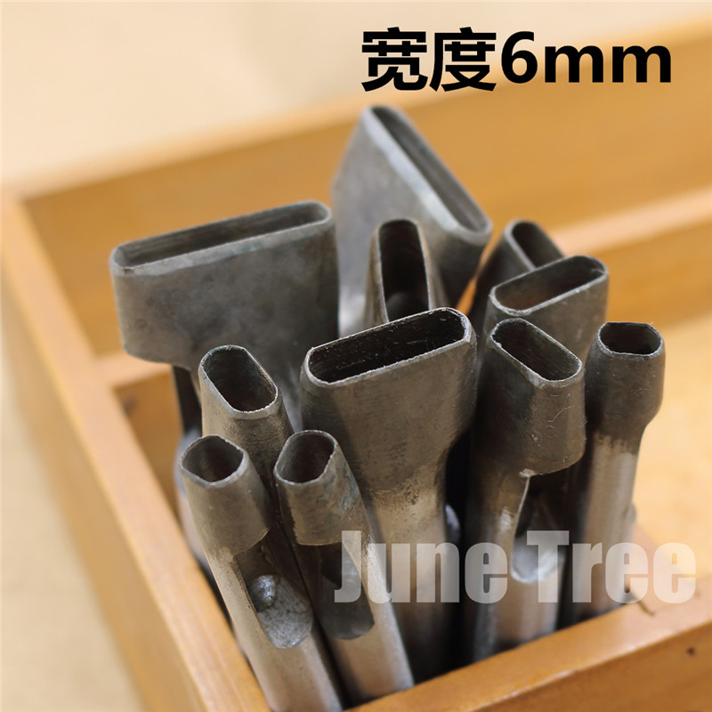 New Arrival Handmade Leather DIY Tools Strap Cowhide Punch Oval Punch Oval Shape Punch 0090603