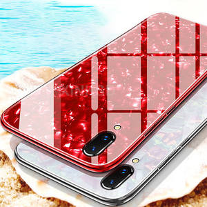Glossy Hard Back Soft Edge Shockproof Protect Case For iPhone X 6 6 s 7 8 Plus