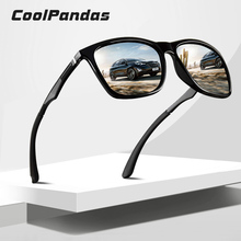 Brand Design Polarized Sunglasses Men Aluminum legs Women Sun Glasses Driving Square Mirror Oculos masculino Male Eyewear Goggle цена 2017
