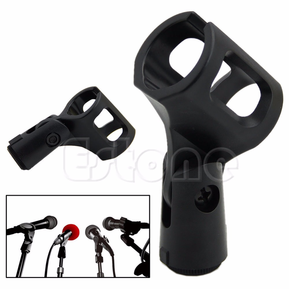 OOTDTY New Flexible plastique Pince Clip Titulaire Mont MIC Micro Stand Accessoire